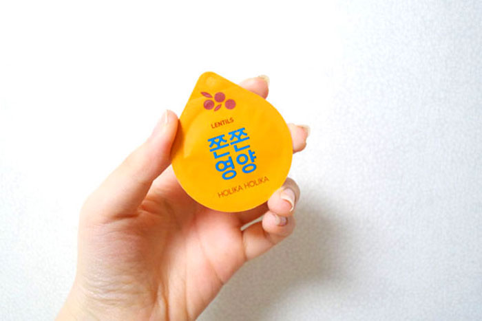 Holika Holika Superfood Capsule Pack - Firming Lentils Питательная ночная маска фото 2 | Sweetness