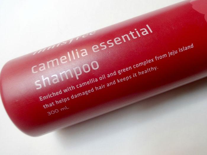 Innisfree Camellia Essence Shampoo Шампунь с камеллией фото 1   Sweetness