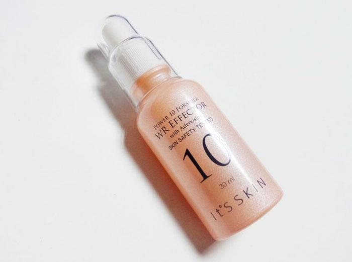 Омолаживающая сыворотка для лица с аденозином и экстрактом чёрной икры It's Skin Power 10 Formula Wr Effector фото 2 / Sweetness
