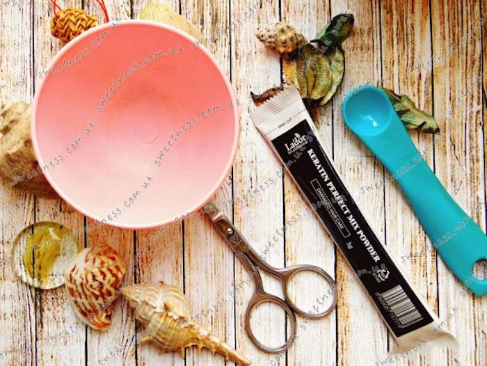 La'dor Keratin Mix Powder Маска с 100% кератином и коллагеном порошковая фото 2 | Sweetness