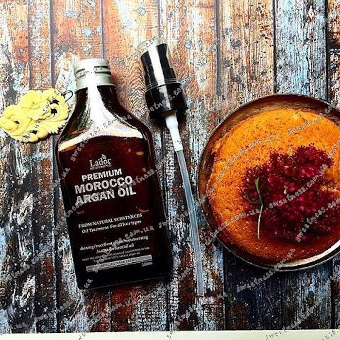 La'dor Premium Argan Hair Oil Масло для волос аргановое фото 11 | Sweetness