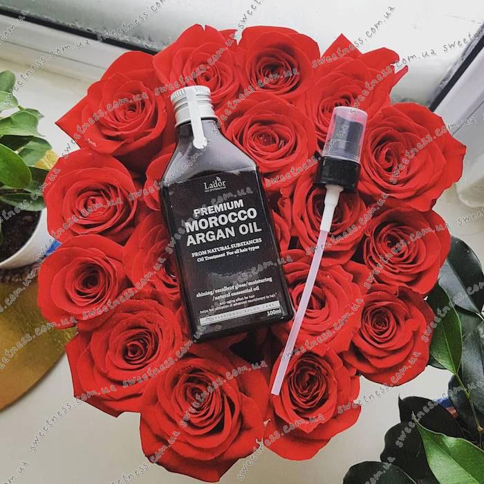 La'dor Premium Argan Hair Oil Масло для волос аргановое фото 12 | Sweetness