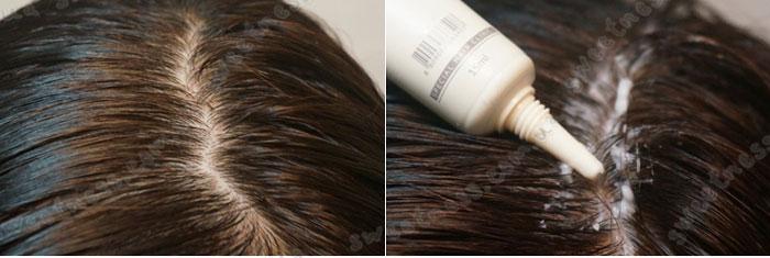 La'dor Scalp Scaling Spa Hair Ampoule Пилинг для кожи головы фото 5 | Sweetness
