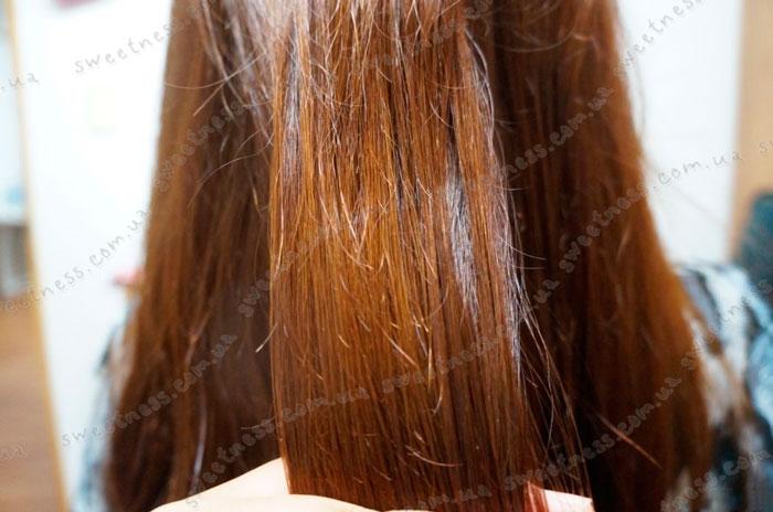 La'dor Sleeping Keratin Ample Ночная кератиновая сыворотка для волос фото 5   Sweetness