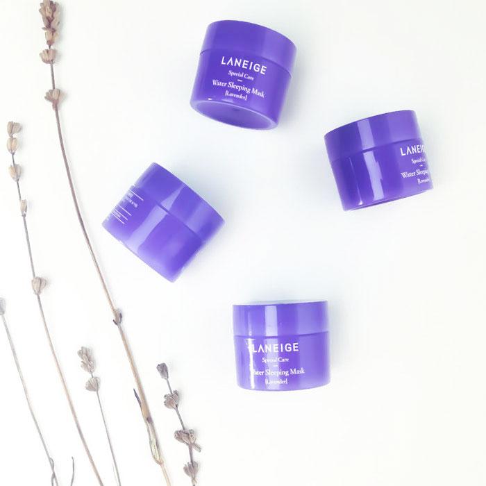 Лавандовая ночная маска Laneige lavender sleeping mask фото 7 | Sweetness