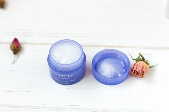 Лавандовая ночная маска Laneige lavender sleeping mask фото 8 | Sweetness