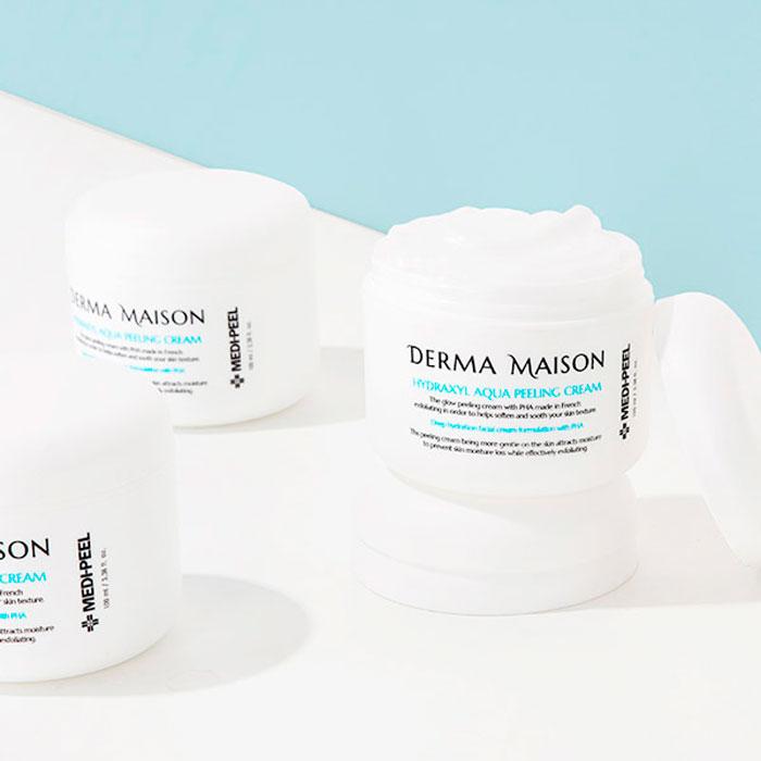 MEDI-PEEL Derma Maison Hydraxyl Aqua Peeling Cream Обновляющий пилинг-крем с кислотами фото 1 / Sweetness