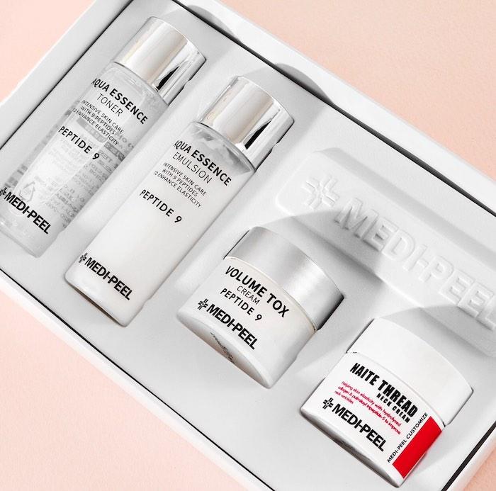 Косметический набор мини-средств с пептидами Medipeel Peptide Skincare Trial Kit фото 1| Корейская косметика Sweetness