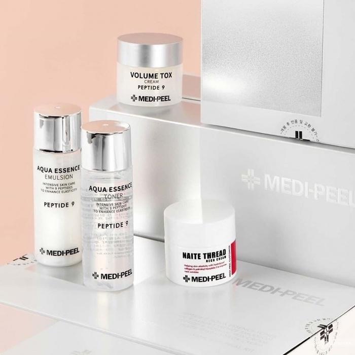 Косметический набор мини-средств с пептидами Medipeel Peptide Skincare Trial Kit фото 4| Корейская косметика Sweetness