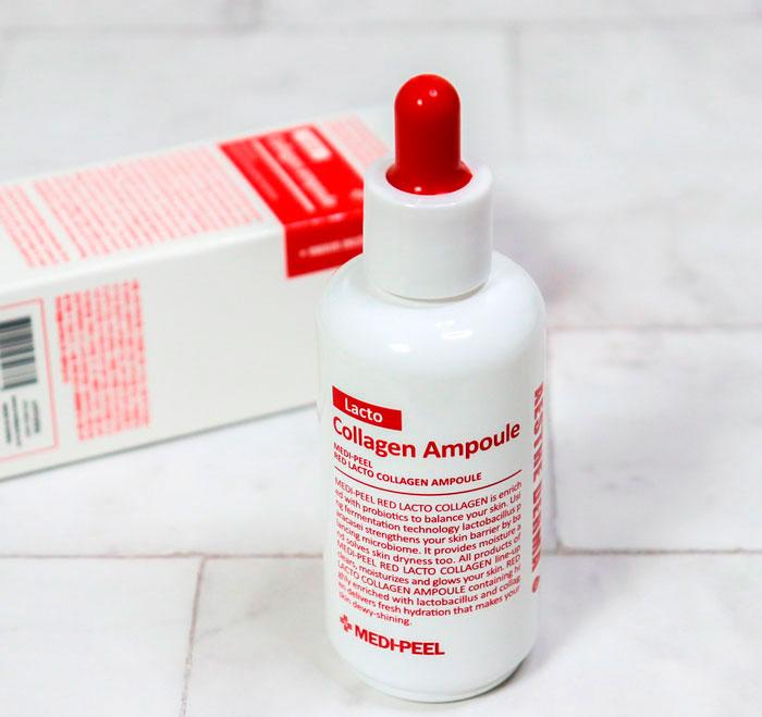 Medi-Peel Red Lacto Collagen Ampoule Сыворотка с пробиотиками и аминокислотами фото 3 / Sweetness
