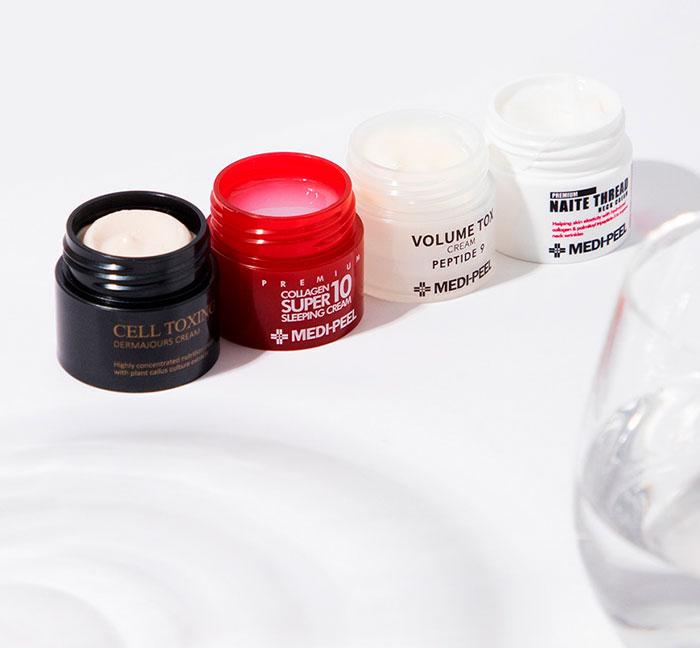 Medi-peel Signature Skin Trial Kit Набор мини кремов для лица фото 1 / Sweetness