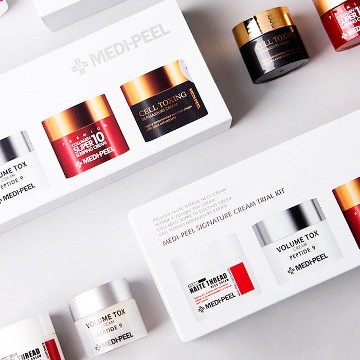 Medi-peel Signature Skin Trial Kit Набор мини кремов для лица фото 2 / Sweetness