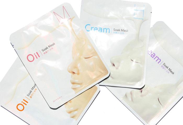 Тканево-кремовая омолаживающая маска Missha Cream-Soak Mask [Glow] фото 2 / Sweetness