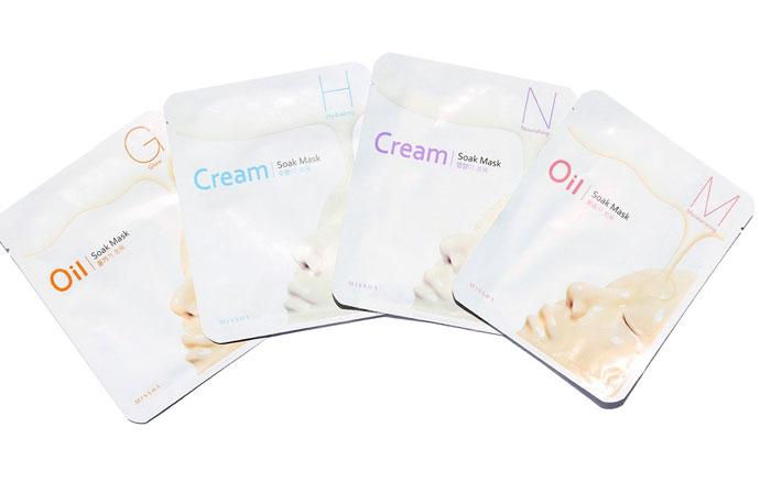 Тканево-кремовая увлажняющая маска Missha Cream-Soak Mask [Hydrating] фото 1 / Sweetness