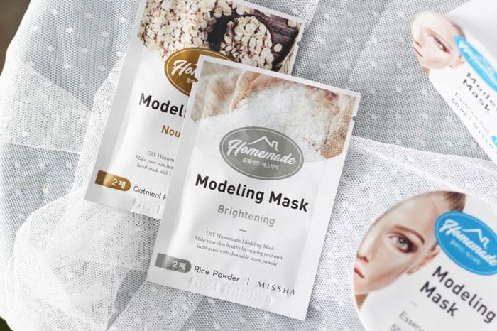 Питательная альгинатная маска для лица Missha Homemade Modeling Mask (Oatmeal) фото 1 / Sweetness
