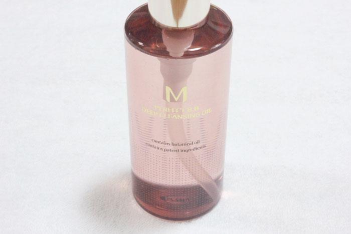 Гидрофильное масло для удаления стойкого BB-крема MISSHA M Perfect B.B Deep Cleansing Oil фото 2 / Sweetness