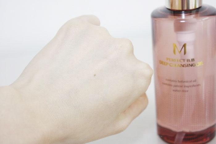 Гидрофильное масло для удаления стойкого BB-крема MISSHA M Perfect B.B Deep Cleansing Oil фото 7 / Sweetness