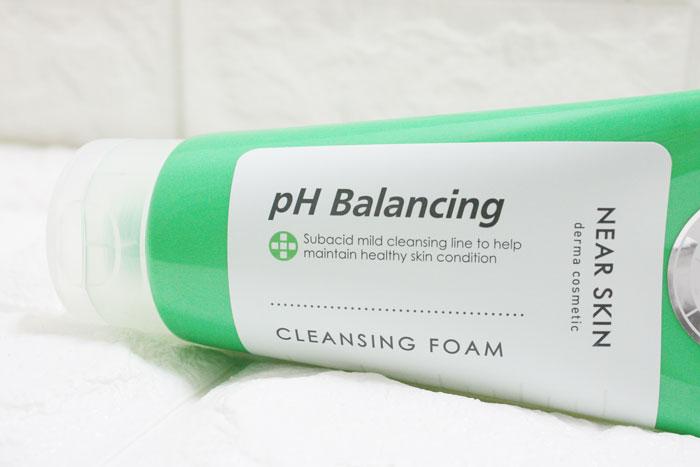 Очищающая пенка для умывания Missha Near Skin Ph Balancing Cleansing Foam фото 1 / Sweetness