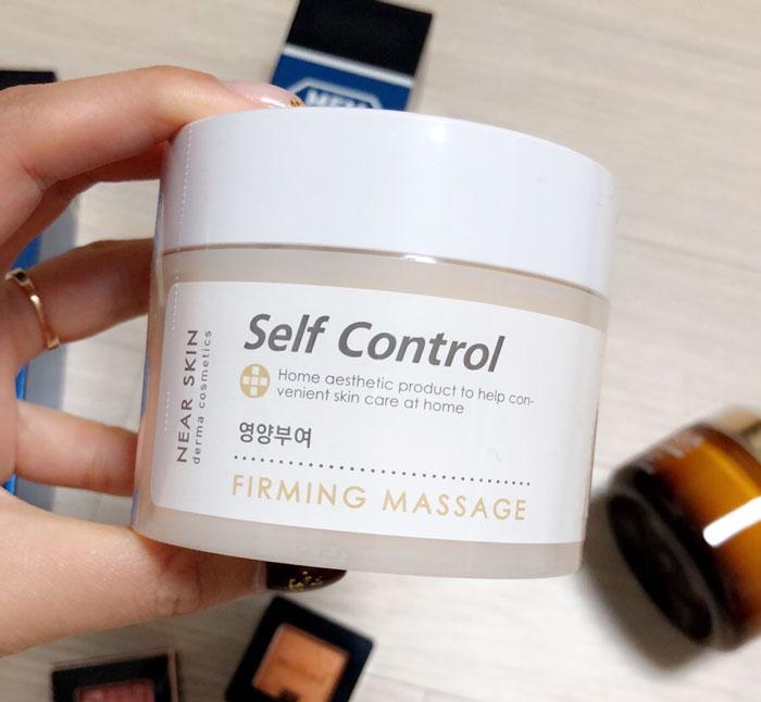 Укрепляющий массажный крем Missha Near Skin Self Control Firming Massage фото 1 / Sweetness