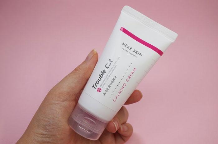 Успокаивающий крем для проблемной кожи Missha Near Skin Trouble Cut Calming Cream фото 2 | Sweetness