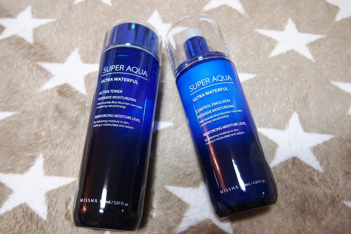 Увлажняющая эмульсия для лица Missha Super Aqua Ultra Waterful Control Emulsion фото 1 / Sweetness