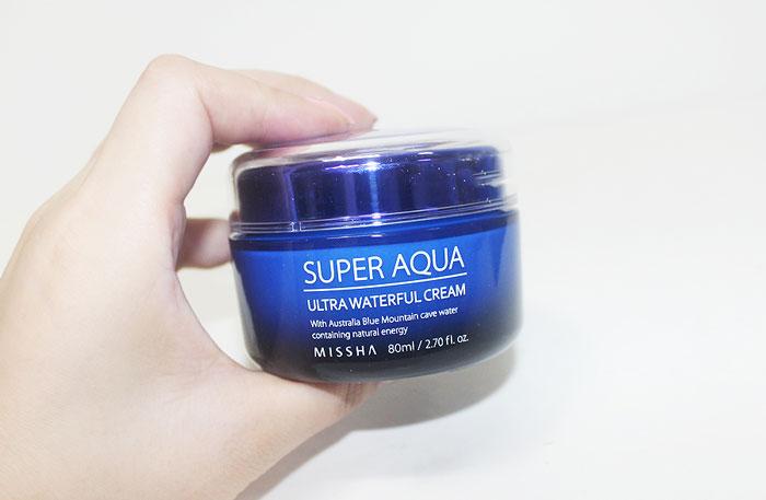 Увлажняющий крем для лица Missha Super Aqua Ultra Waterful Cream фото 1 / Sweetness