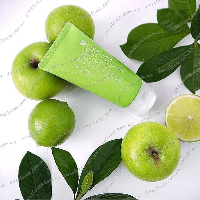 Яблочная скатка MIZON Apple Juicy Peeling Gel фото 1 | Sweetness