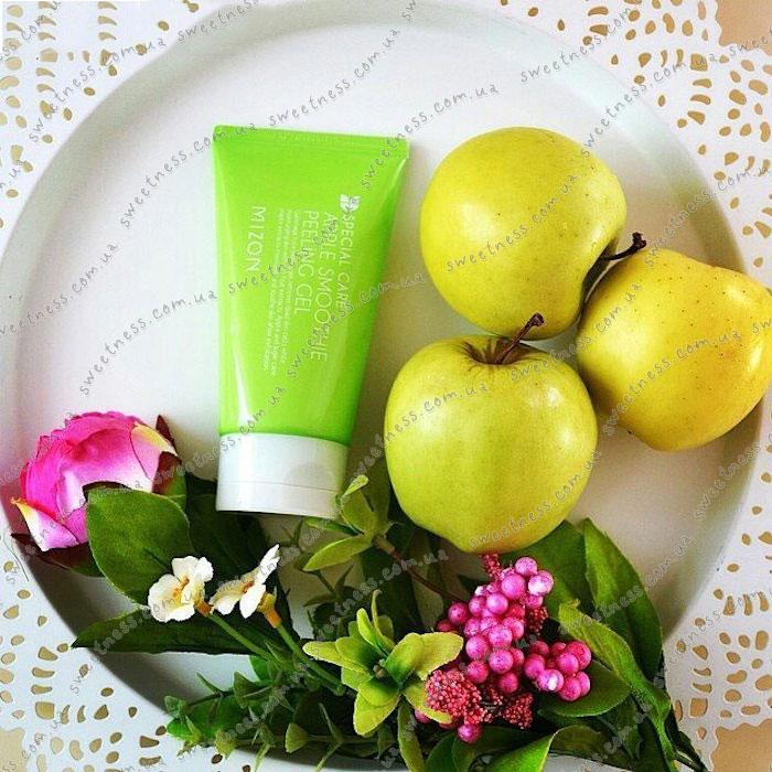 Яблочная скатка MIZON Apple Juicy Peeling Gel фото 2 | Sweetness