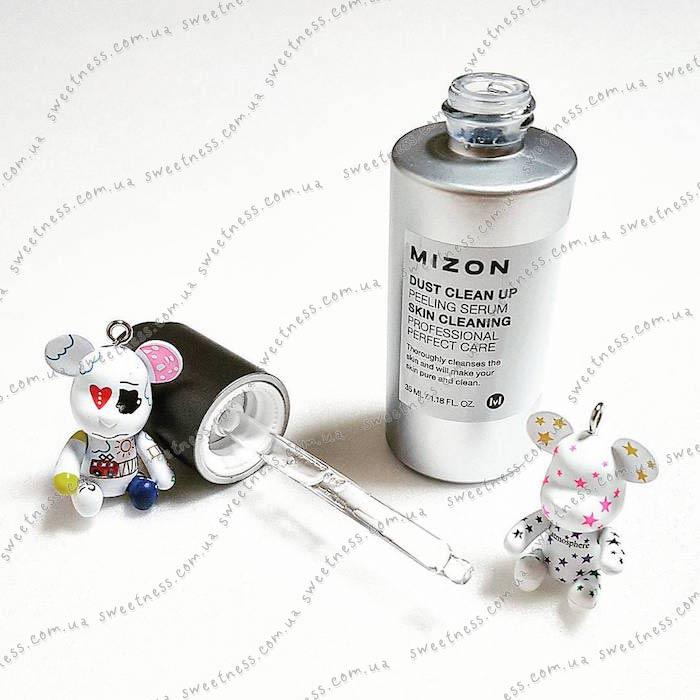 Mizon Dust Clean Up Peeling Serum Сыворотка-пилинг с АНА-кислотами фото 3   Sweetness