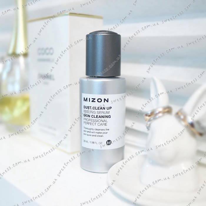 Mizon Dust Clean Up Peeling Serum Сыворотка-пилинг с АНА-кислотами фото 7   Sweetness