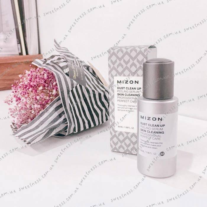 Mizon Dust Clean Up Peeling Serum Сыворотка-пилинг с АНА-кислотами фото 8   Sweetness