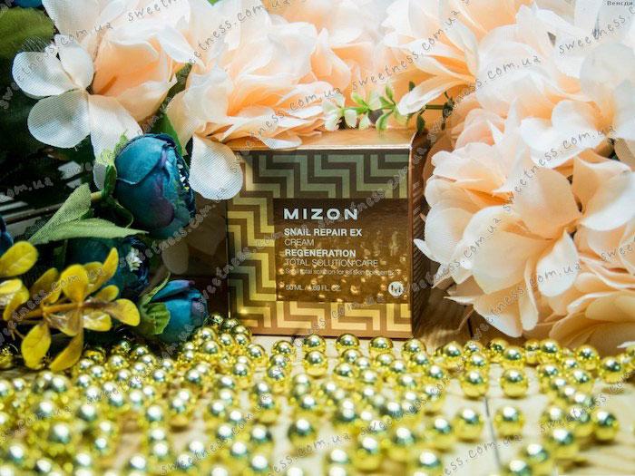 Mizon Snail Repair EX Cream Восстанавливающий крем с экстрактом улитки фото 1 | Sweetness