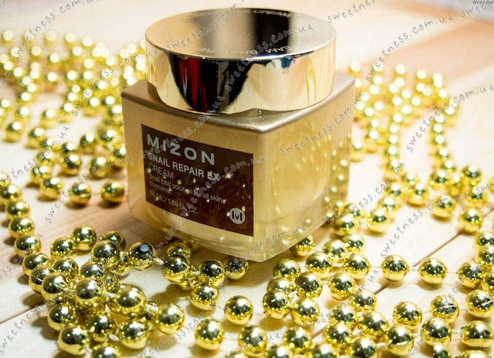Mizon Snail Repair EX Cream Восстанавливающий крем с экстрактом улитки фото 2 | Sweetness