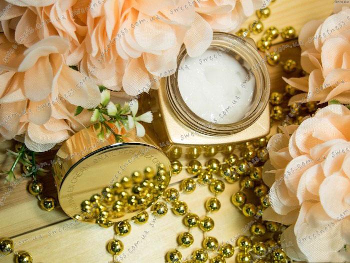 Mizon Snail Repair EX Cream Восстанавливающий крем с экстрактом улитки фото 4 | Sweetness