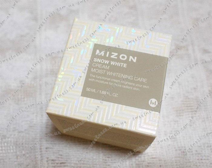 Mizon Snow White Cream Осветляющий крем для лица фото 1 | Sweetness