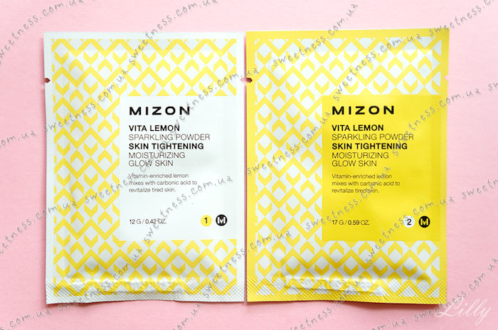 Mizon Vita Lemon Sparkling Powder Пудра для умывания фото 2 | Sweetness
