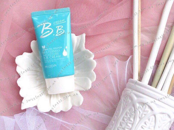 Увлажняющий ББ-крем Mizon Water Max Moisture BB Cream фото 4 | Корейская косметика Sweetness