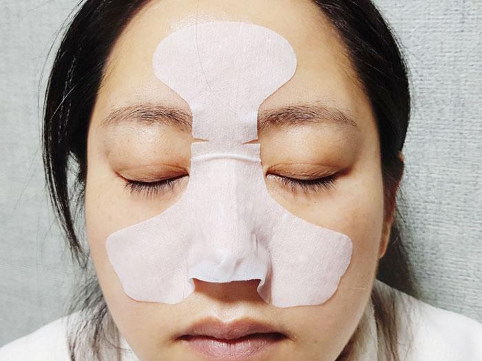 Маска 3-х шаговая для очищения пор носа от черных точек Nightingale Tako Pack Nose фото 4 | Sweetness
