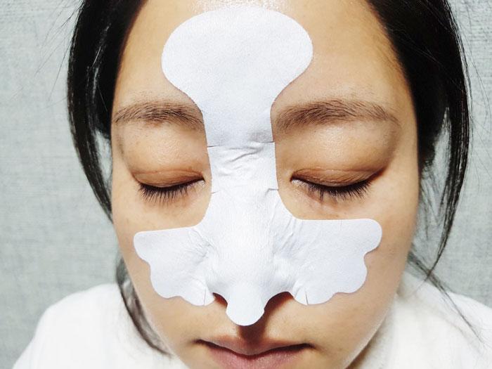 Маска 3-х шаговая для очищения пор носа от черных точек Nightingale Tako Pack Nose фото 6 | Sweetness