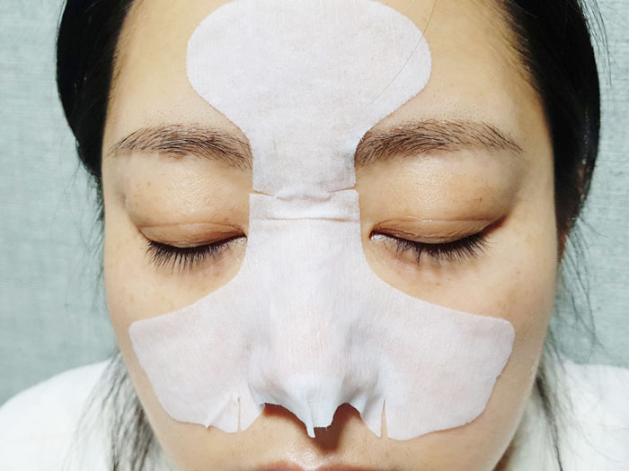 Маска 3-х шаговая для очищения пор носа от черных точек Nightingale Tako Pack Nose фото 8 | Sweetness