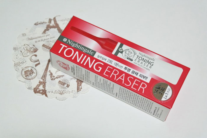 Кислотный пилинг (7%), 5шт по 2мл. Nightingale Toning Eraser Lv.1 фото 1   Sweetness