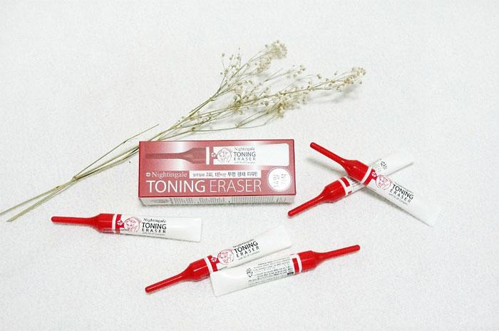 Кислотный пилинг (15%), 5шт по 2мл. Nightingale Toning Eraser фото 1 | Sweetness