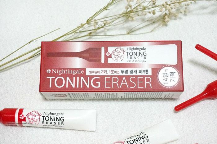 Кислотный пилинг (15%), 5шт по 2мл. Nightingale Toning Eraser фото 2 | Sweetness