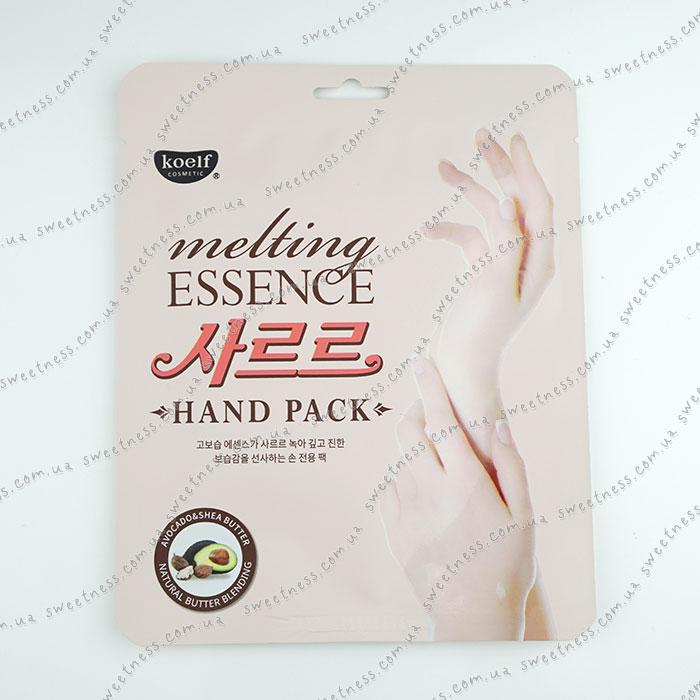 Koelf Melting Essence Hand Pack Маска для рук фото 1   Sweetness
