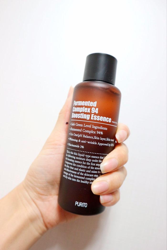 Ферментированная эссенция с ниацинамидом 3% PURITO Fermented Complex 94 Boosting Essence фото 3 / Sweetness