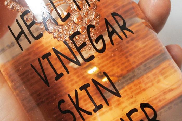 Уксусный тонер с красным женьшенем Real Skin Healthy vinegar skin toner Red ginseng фото 3 | Sweetness