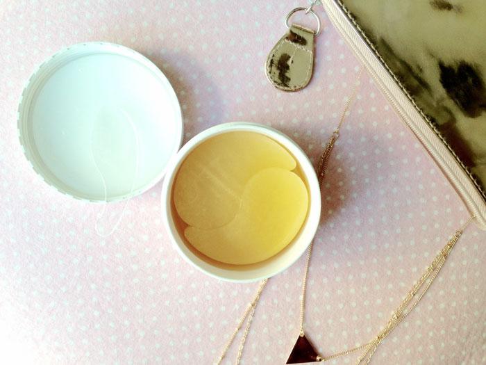 Secret Key Gold Premium First Eye Patch Гидрогелевые патчи с микрочастицами золота. Цены, отзывы, описание на Secret Key Gold Pr фото 4 | Sweetness