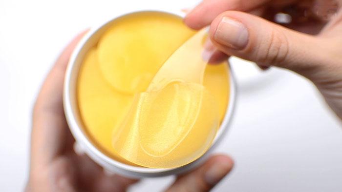 Secret Key Gold Premium First Eye Patch Гидрогелевые патчи с микрочастицами золота. Цены, отзывы, описание на Secret Key Gold Pr фото 5 | Sweetness