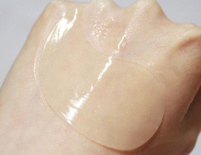 Secret Key Gold Premium First Eye Patch Гидрогелевые патчи с микрочастицами золота. Цены, отзывы, описание на Secret Key Gold Pr фото 6 | Sweetness