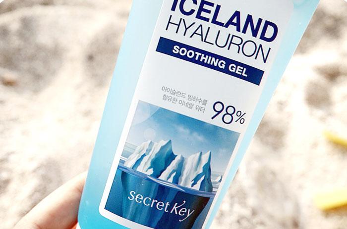 Гиалуроновый гельSecret Key Iceland Hyaluron Soothing Gel фото 3   Sweetness